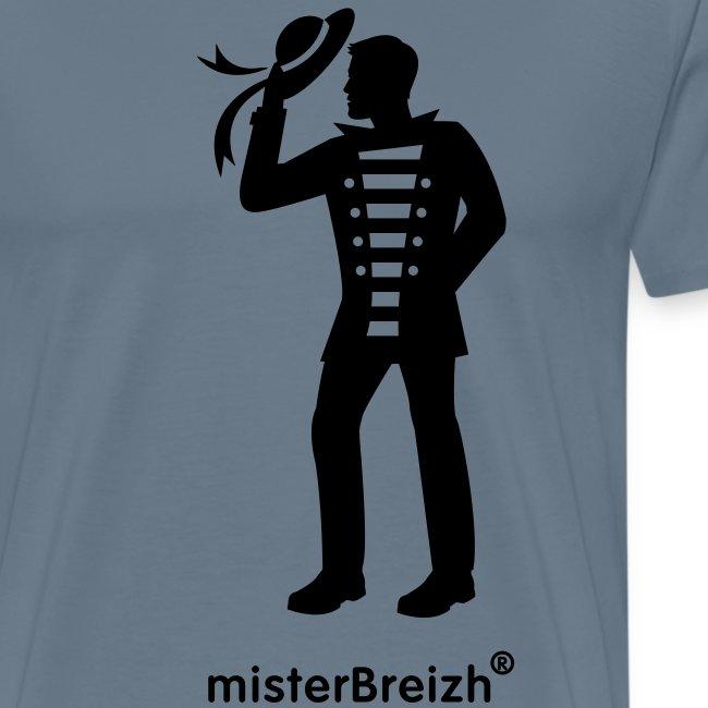 tshirt grand misterBreizh flex noir