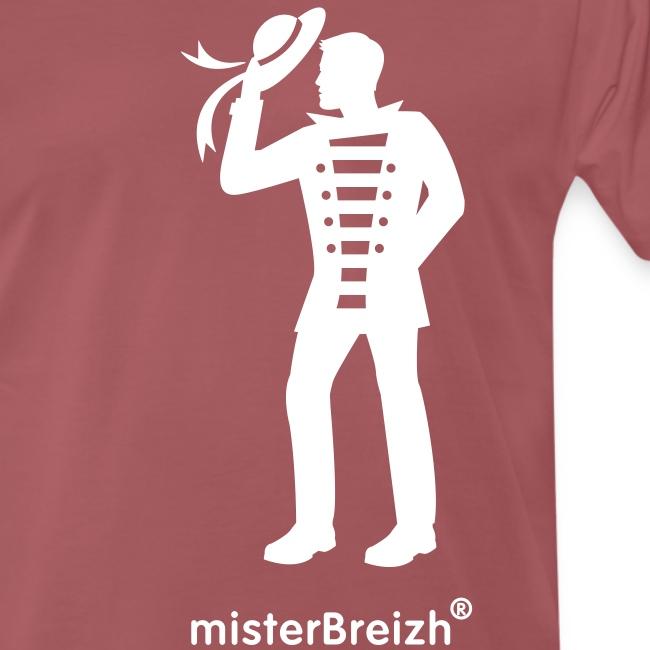 tshirt grand misterBreizh flex blanc
