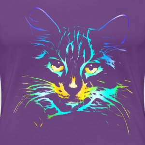 color kitty Tee shirts - T-shirt Premium Femme