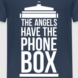 the angels have the phone box T-Shirts - Kinder Premium T-Shirt