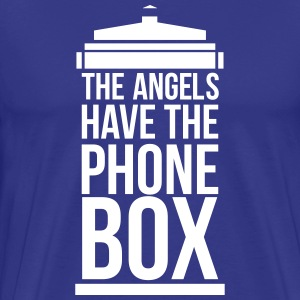 the angels have the phone box T-Shirts - Männer Premium T-Shirt