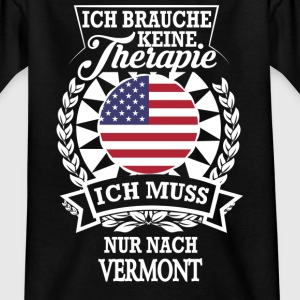 Therapie Vermont T-Shirts - Teenager T-Shirt
