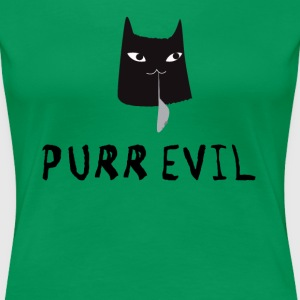 Evil Cat T-Shirts - Frauen Premium T-Shirt