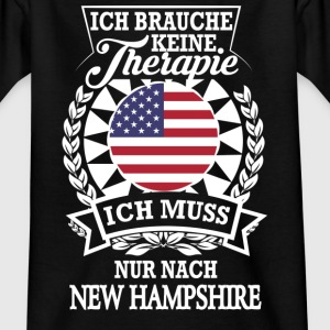 Therapie New Hampshire T-Shirts - Teenager T-Shirt