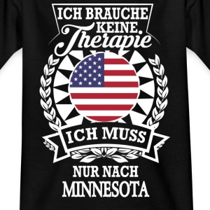 Therapie Minnesota T-Shirts - Kinder T-Shirt