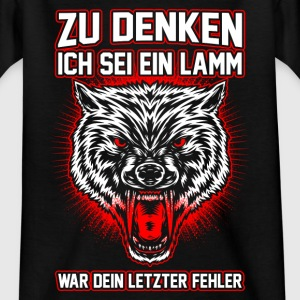 Wolf - fout Shirts - Teenager T-shirt