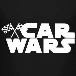 Car Wars Motor Sport Racing Flagge lustiges Motiv T-Shirts - Teenager Premium T-Shirt