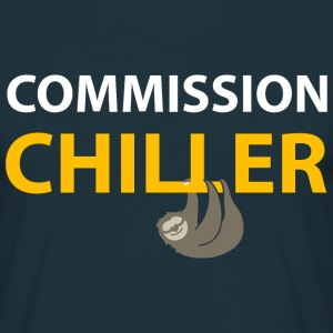 commission chiller Tee shirts - T-shirt Homme
