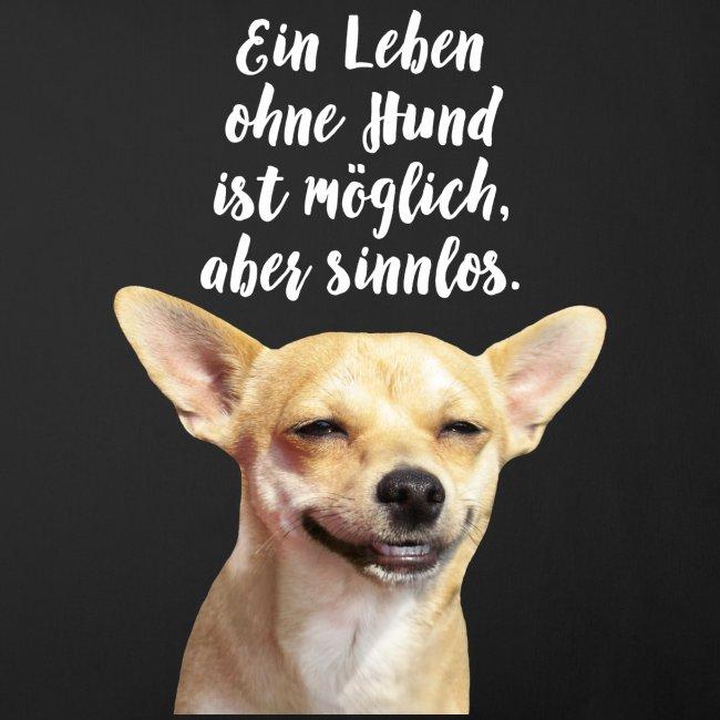 Ein Leben ohne Hund ist möglich aber sinnlos | Soffkuddsöverdrag, 45 x 45 cm