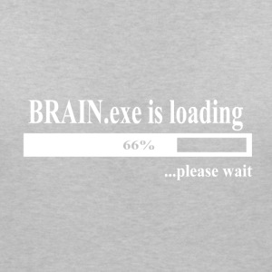 Brain.Exe is loading T-Shirts - Frauen T-Shirt mit V-Ausschnitt
