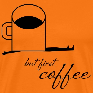 coffee and body - Männer Premium T-Shirt