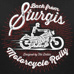 Back From Sturgis - T-shirt col V Femme