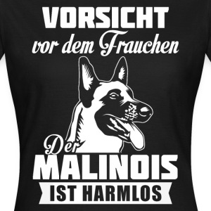 Malinois - attention Tee shirts - T-shirt Femme