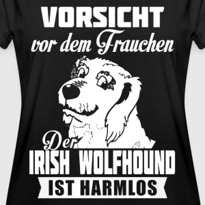 Irish Wolfhound - caution T-Shirts - Women's Oversize T-Shirt
