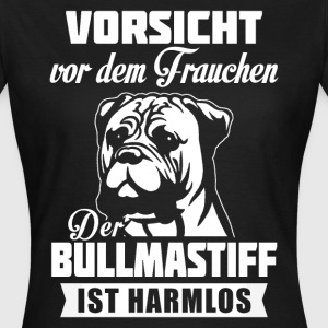 BullMastiff - caution T-Shirts - Women's T-Shirt