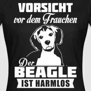 Beagle - caution T-Shirts - Women's T-Shirt