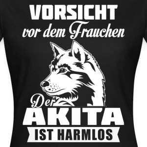 Akita - attention Tee shirts - T-shirt Femme