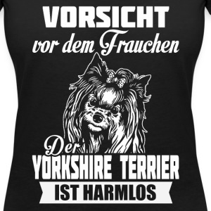 Yorkshire Terrier Tee shirts - T-shirt col V Femme
