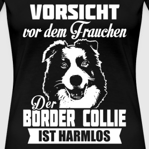 Border Collie T-Shirts - Frauen Premium T-Shirt