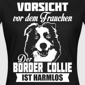 Border Collie T-shirts - Dame-T-shirt