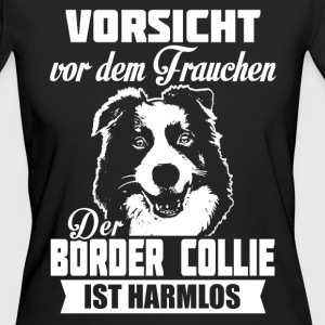 Border Collie T-Shirts - Frauen Bio-T-Shirt