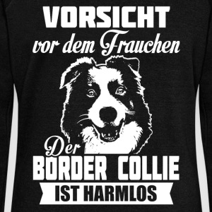 Border Collie Sweat-shirts - Pull Femme col bateau de Bella