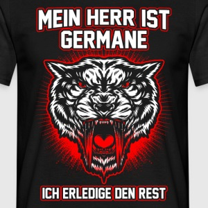 Min herre er germane T-shirts - Herre-T-shirt