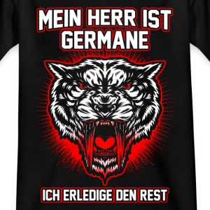 My master is germane Shirts - Kids' T-Shirt