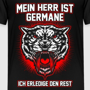 Min herre er germane T-shirts - Teenager premium T-shirt