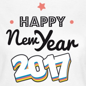 happy new year  2017 coul T-Shirts - Women's T-Shirt