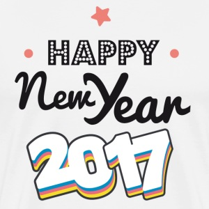 happy new year  2017 coul Tee shirts - T-shirt Premium Homme