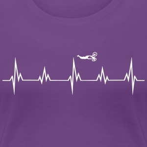 Heartbeat bike T-Shirts - Women's Premium T-Shirt