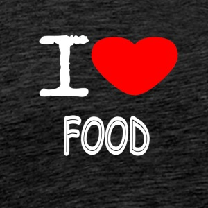 I LOVE FOOD - Männer Premium T-Shirt