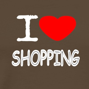 I LOVE SHOPPING - Männer Premium T-Shirt