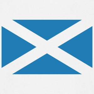 Scotland Flag HQ. - Men's T-Shirt