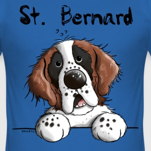 Leuke Sint Bernard T-shirts - slim fit T-shirt
