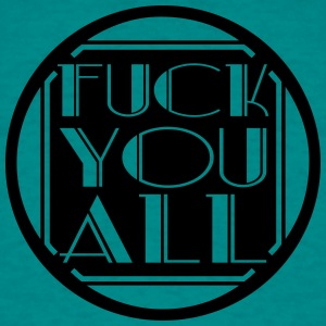 symbol all alle fuck you off text logo design cool T-Shirts - Männer T-Shirt