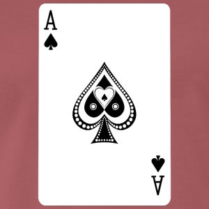 Ace Of Spades - Premium-T-shirt herr