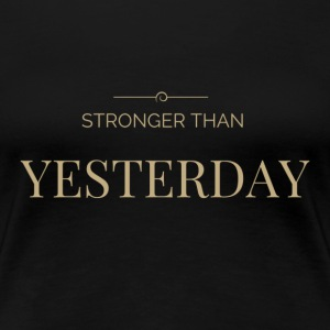 Women's Motivational T - Women's Premium T-Shirt