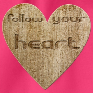 Love - follow your heart Bags & Backpacks - Drawstring Bag