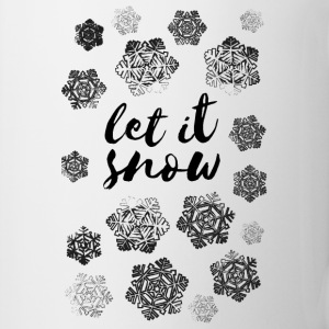 AD Let It Snow Mugs & Drinkware - Mug