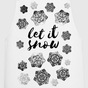 AD Let It Snow  Aprons - Cooking Apron