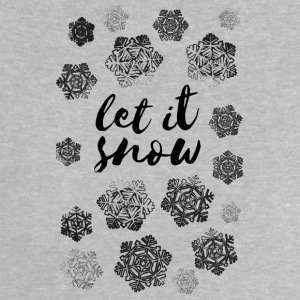 AD Let It Snow Baby T-Shirts - Baby T-Shirt