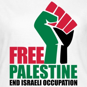 Free Palestine End Israeli Occupation T-Shirts - Women's T-Shirt
