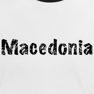 Macedonia - Frauen Kontrast-T-Shirt
