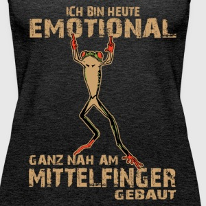 Emotionaler Mittelfinger Tops - Frauen Premium Tank Top