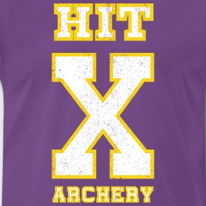 HIT X ARCHERY-Bogensport T-Shirts - Männer Premium T-Shirt