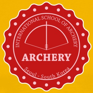 School of Archery - Korea T-Shirts - Männer Premium T-Shirt