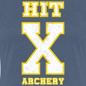 HIT X ARCHERY-Bogensport T-Shirts - Frauen Premium T-Shirt