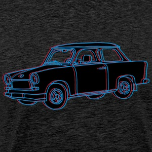 Voiture Trabant 2 Tee shirts - T-shirt Premium Homme